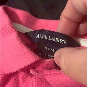 Ralph Lauren Dresses - Pink girls dress
